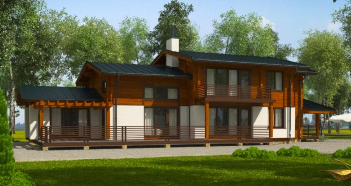 Tiszavirág - Gerendaház - 291 m²