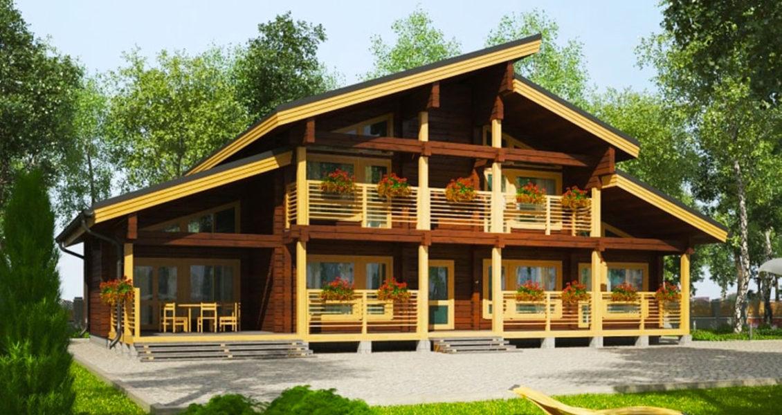 Tengeri teraszok - Gerendaház - 244 m²